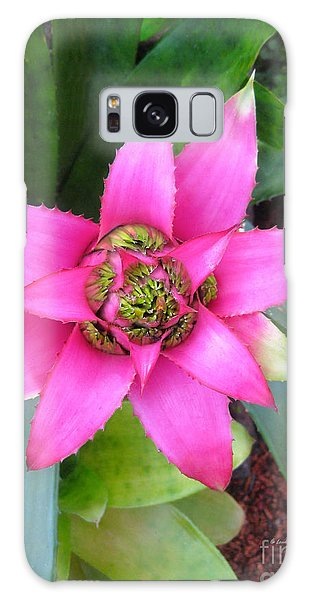Pink And Beautiful  Galaxy Case by Claudia Ellis