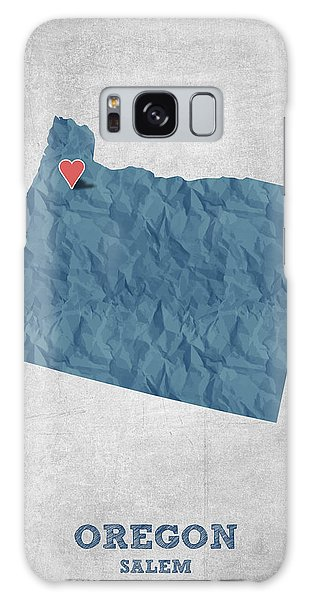 I Love Salem Oregon- Blue Galaxy Case