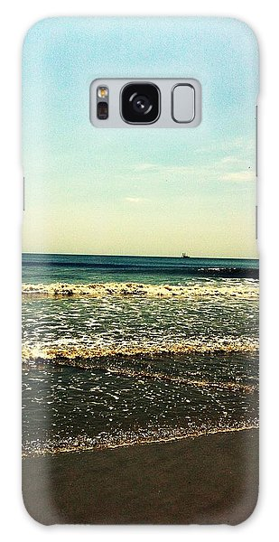 I Love The Beach Galaxy Case