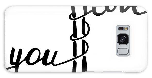 Concept Galaxy Case - I Love You . Inspirational And by Marina Kutukova