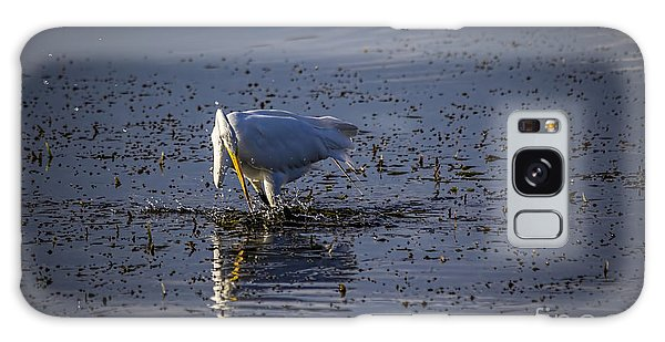 Egret Galaxy Case - I Missed by Marvin Spates