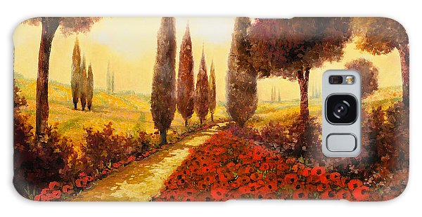 Borelli Galaxy Case - I Papaveri In Estate by Guido Borelli