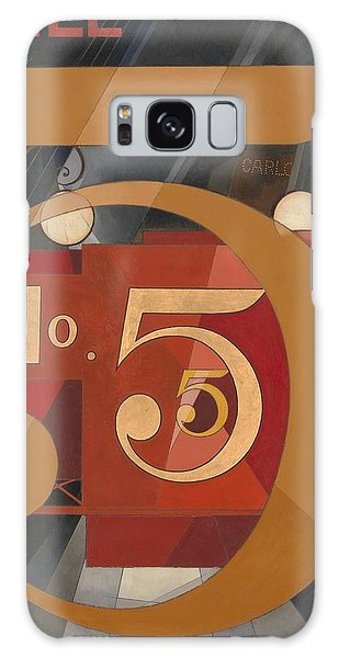 Central America Galaxy Case - I Saw The Figure 5 In Gold by Charles Demuth