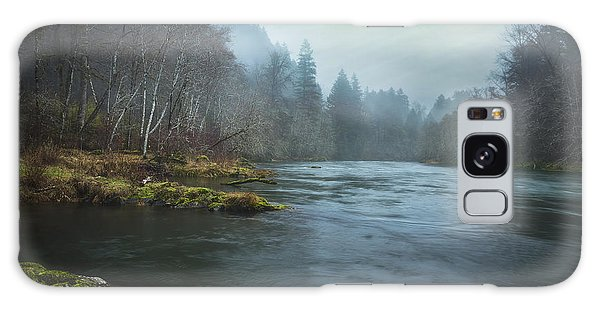 Galaxy Case featuring the photograph I Wish I Had A River... by Belinda Greb