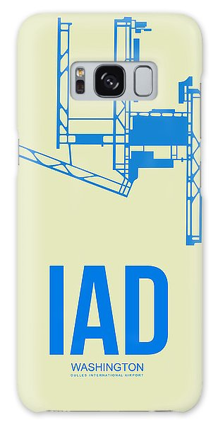 Washington D.c Galaxy Case - Iad Washington Airport Poster 1 by Naxart Studio