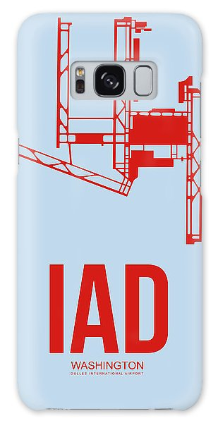 Washington D.c Galaxy Case - Iad Washington Airport Poster 2 by Naxart Studio