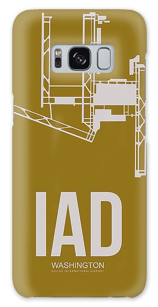 Washington D.c Galaxy Case - Iad Washington Airport Poster 3 by Naxart Studio