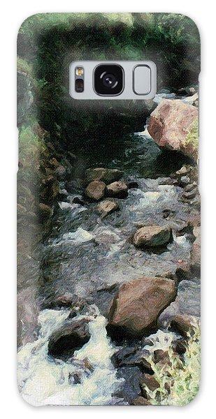 Rocky Stream In Iao Valley Galaxy Case