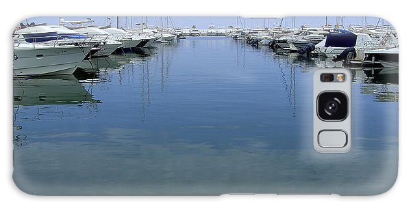 Ibiza Harbour Galaxy Case
