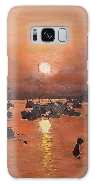 Ibiza Sunset Galaxy Case by Cherise Foster