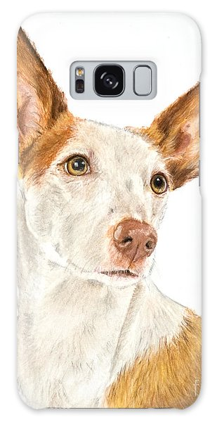 Ibizan Hound In Pastel Galaxy Case