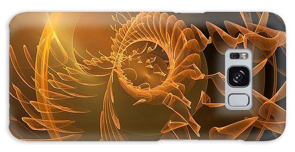 Icarus Galaxy Case by Linda Whiteside