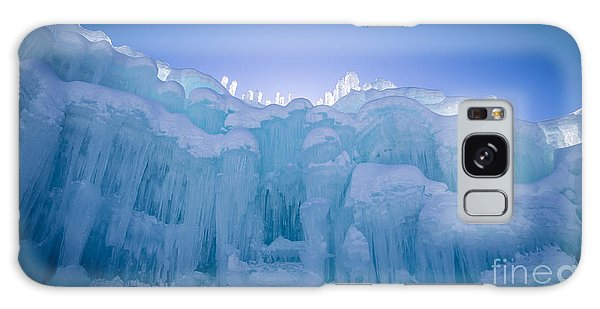 Ice Castle Galaxy Case by Edward Fielding