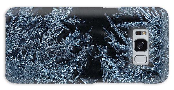 Ice Crystals Galaxy Case