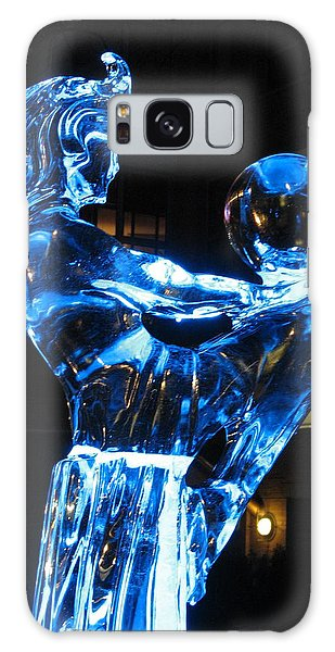 Ice Dancers Galaxy Case