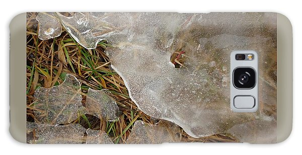 Ice Edges-i Galaxy Case by Patricia Overmoyer