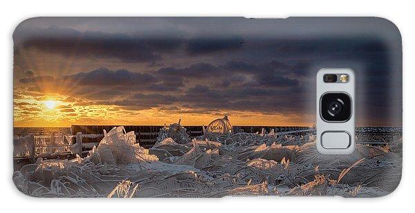 Ice Fields Galaxy Case by James  Meyer