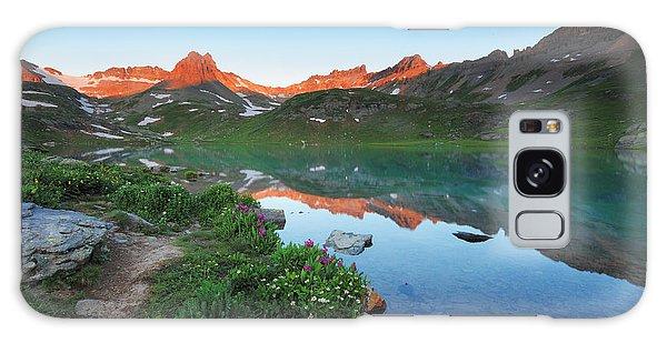 Ice Lake Sunrise Galaxy Case