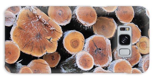 Ice Logs Galaxy Case