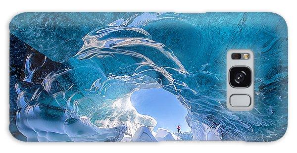 Ice Galaxy Case - Ice Vortex by Michael Blanchette