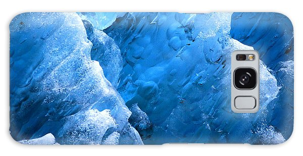 Iceberg Blues Galaxy Case by Cynthia Lagoudakis