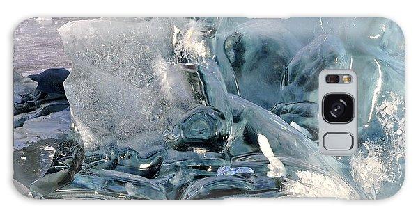 Iceberg Detail Galaxy Case by Cathy Mahnke