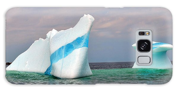 Iceberg Off The Coast Of Newfoundland Galaxy Case by Lisa Phillips