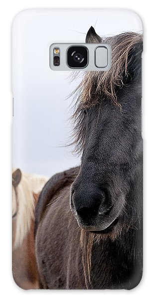 Iceland Horses Galaxy Case