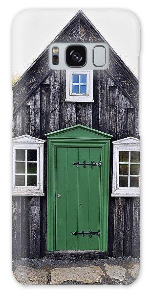 Icelandic Old House Galaxy Case