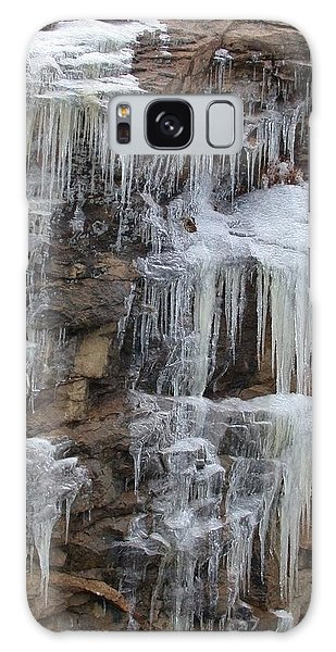 Icicle Cliffs Galaxy Case