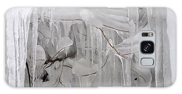 Icicles Gone Wild Galaxy Case