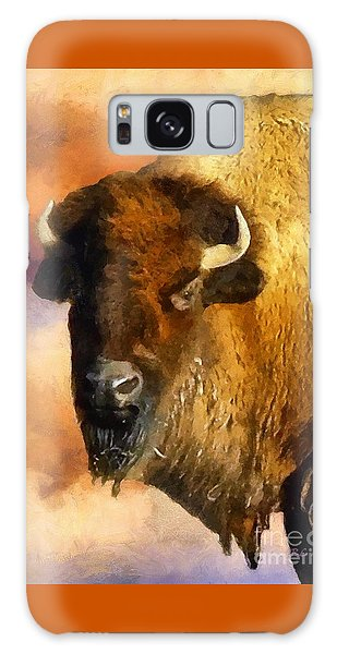 Icon Of The Plains Galaxy Case by RC deWinter