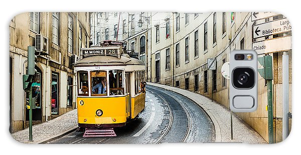 Iconic Lisbon Streetcar No. 28 IIi Galaxy Case