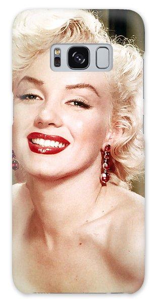 Iconic Marilyn Monroe Galaxy Case