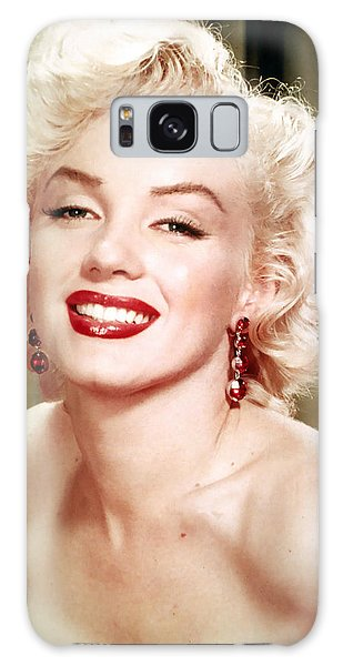 Iconic Marilyn Monroe Galaxy Case