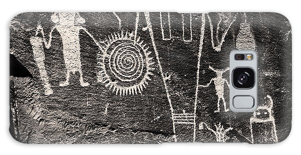 Iconic Petroglyphs From The Freemont Culture Galaxy Case