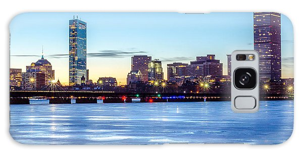 Icy Boston At Dawn Galaxy Case