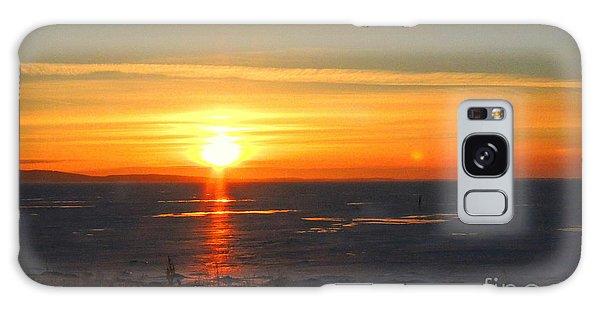 Icy Sunset Galaxy Case