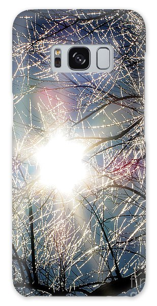 Icy Web Galaxy Case