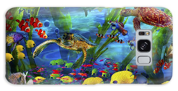 I'd Like To Be Under The Sea...... Galaxy Case