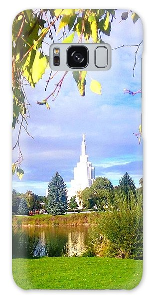 Idaho Falls Temple Galaxy Case
