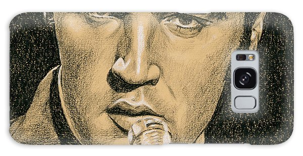 Elvis Presley Galaxy Case - If You're Looking For Trouble by Rob De Vries