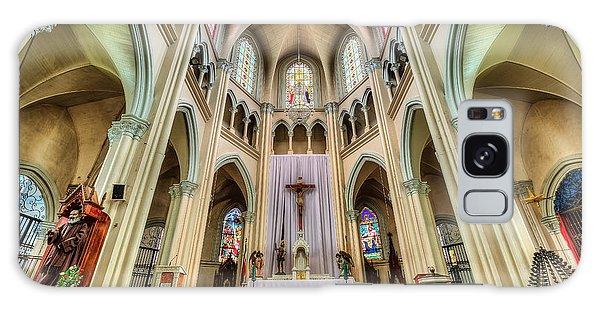 Iglesia De San Isidro De Coronado In Costa Rica Galaxy Case by Andres Leon
