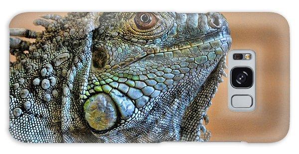 Iguana Galaxy Case by Robert Knight