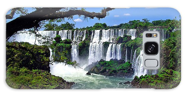 Iguazu Falls In Argentina Galaxy Case