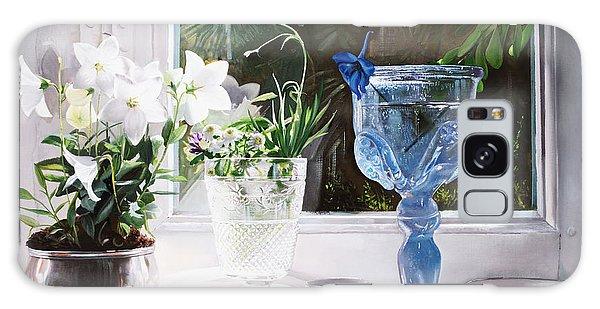 Glass Galaxy Case - Il Calice Blu by Guido Borelli