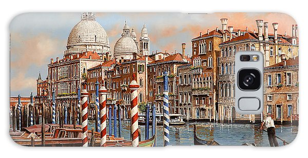 Boat Galaxy S8 Case - Il Canal Grande by Guido Borelli