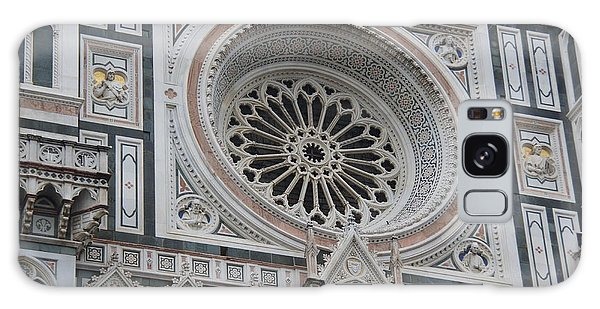 Notre Dame Galaxy Case by Debi Demetrion