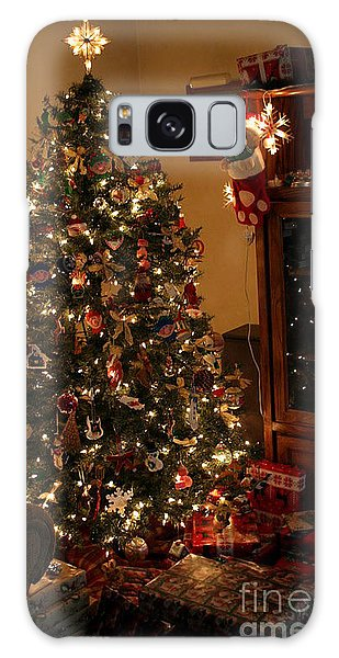 I'll Be Home For Christmas Galaxy Case by Living Color Photography Lorraine Lynch