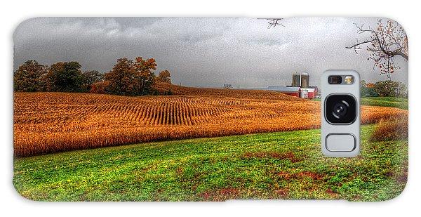 Illinois Farmland I Galaxy Case